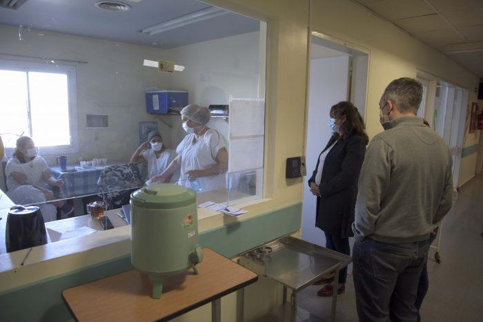 La Ministra de Salud recorrió centros asistenciales en el Día de la Sanidad