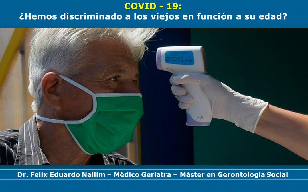 Pandemia y Adultos Mayores: Conferencia