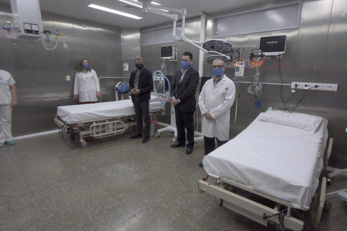 El Lagomaggiore incorpora siete nuevas camas de terapia
