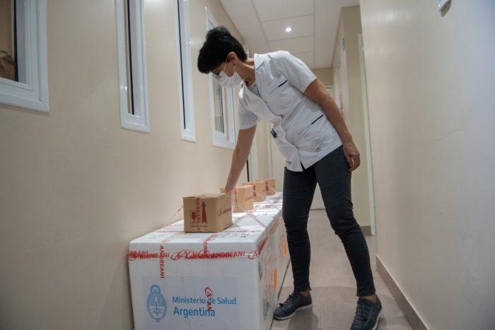 Llegaron a la provincia de Mendoza 21.600 dosis de la vacuna Sinopharm