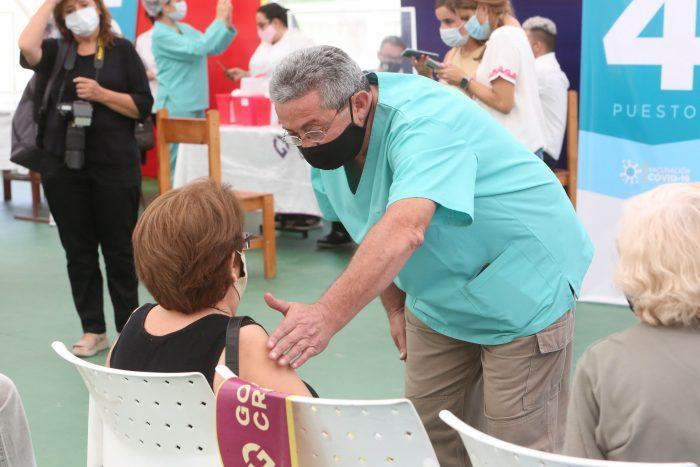 Arrancó la vacunación contra COVID-19 a mayores de 60 años