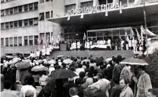 La historia arquitectónica del Hospital Central de la provincia de Mendoza