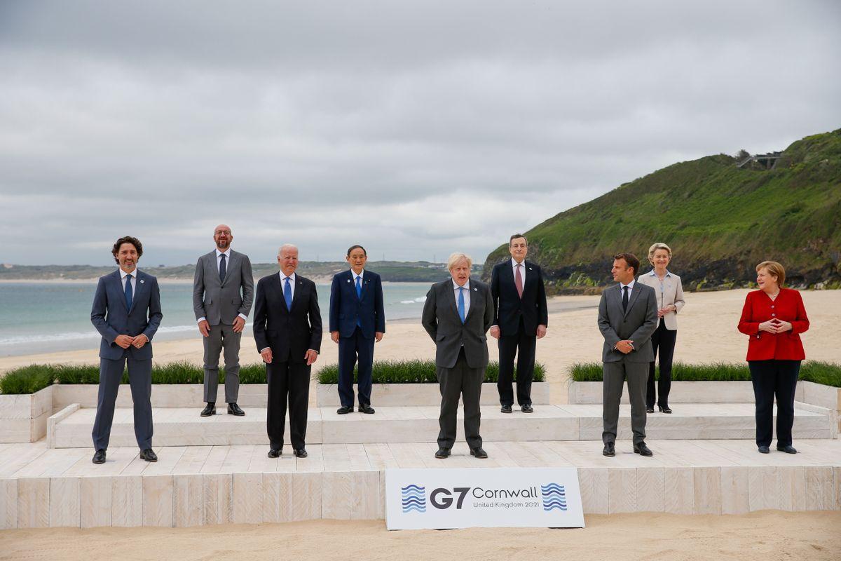 Piden al G7 más vacunas contra el coronavirus y compromiso ante el cambio climático