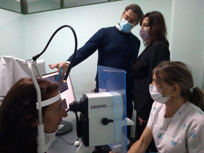 El Hospital Central de Mendoza compró un Tomógrafo de Coherencia Óptica (OCT)