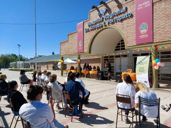 El Hospital Perrupato participó en la conmemoración del Día Mundial de la Salud Mental